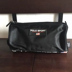 Polo Sport black toiletry bag 06b73eb5a4b34